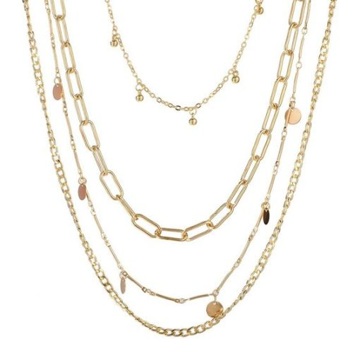 collier rangs chaines