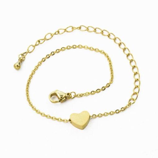 bracelet coeur bijoux fantaisie