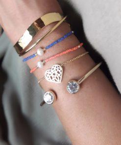 bracelet coeur cadeau femme