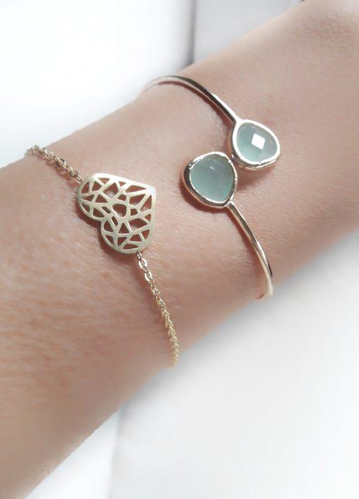 bracelet coeur bijoux createur