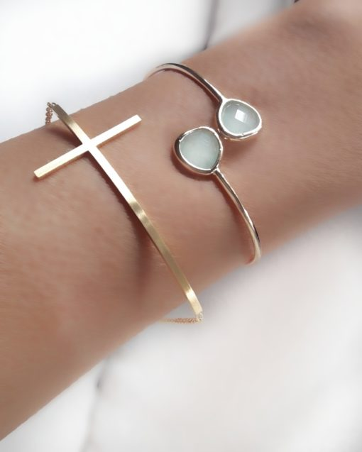 bracelet croix femme