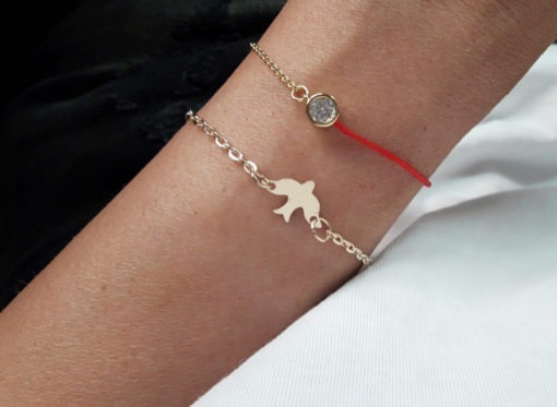 bracelet oiseau cadeau pas cher