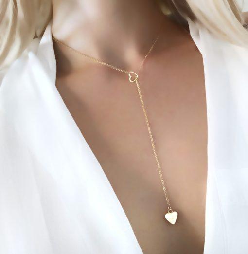 collier pendentif coeur original