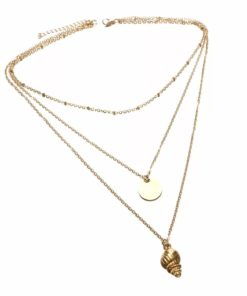 collier pour femme coquillage