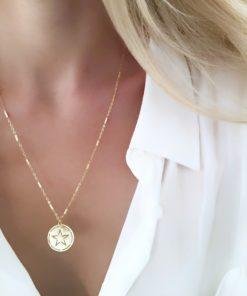 collier etoile bijoux createurs