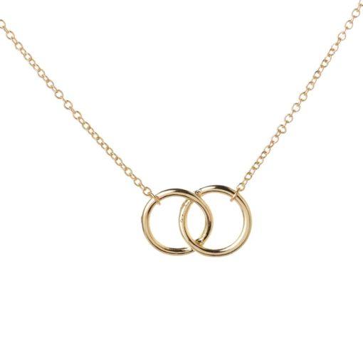 collier double cercle