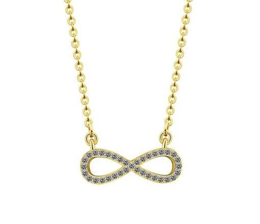 collier pendentif infini