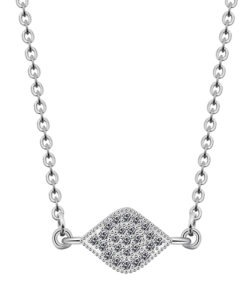collier pendentif losange