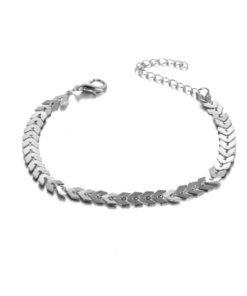 bracelet argente fantaisie