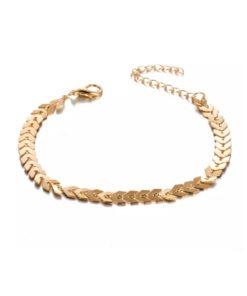 bracelet dore fantaisie