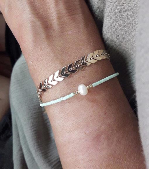bracelet dore pas cher