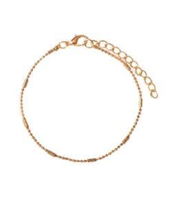 bracelet minimaliste dore