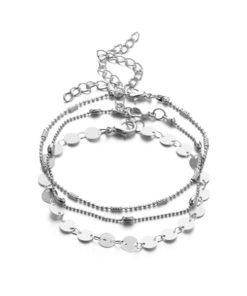 bracelets argente femme