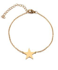 bracelet etoile femme pas cher