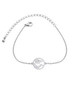bracelet fantaisie mappemonde