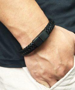 bracelet cuir homme cadeau pas cher