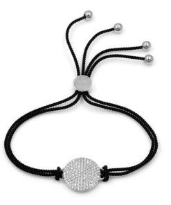 bracelet cordon noir