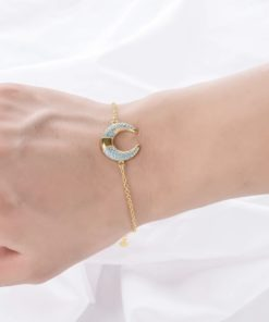 bracelet corne original pour femme
