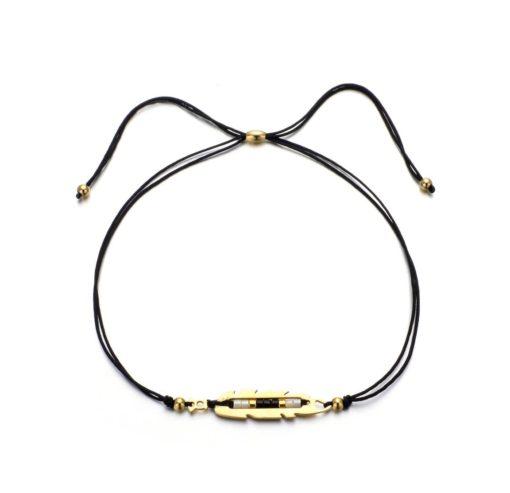 bracelet createur noir
