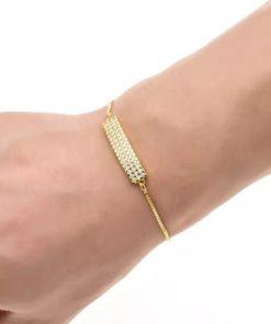 bracelet dore cadeau