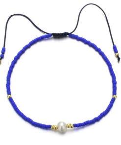 bracelet tendance bleu