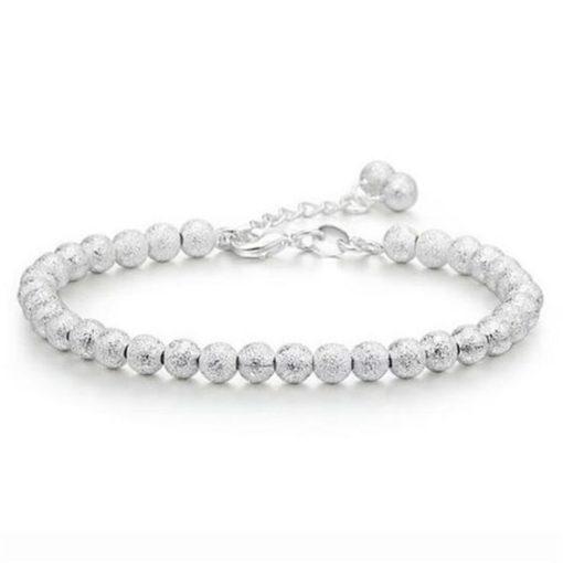 bracelet argent breloques