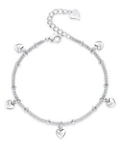 bracelet coeur argent 925