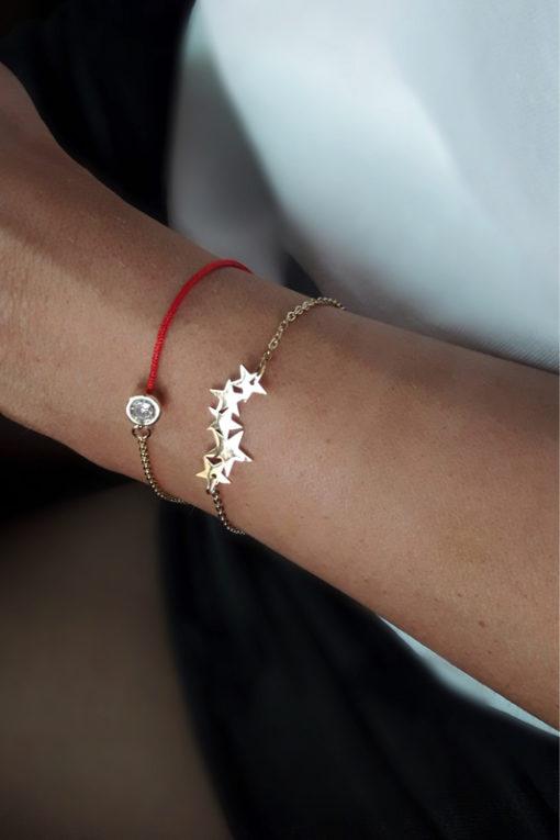 bracelet etoiles cadeau