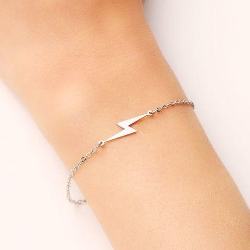bracelet flash argente
