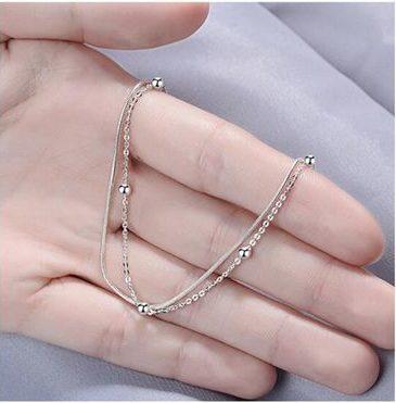 bracelet minimaliste en argent