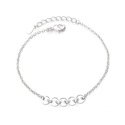 bracelet portebonheur argent