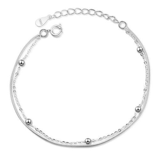 bracelets minimalistes argent