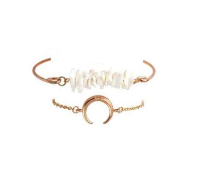 bracelet croissant de lune cadeau