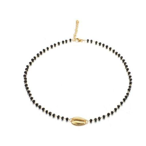 collier pendentif coquillage