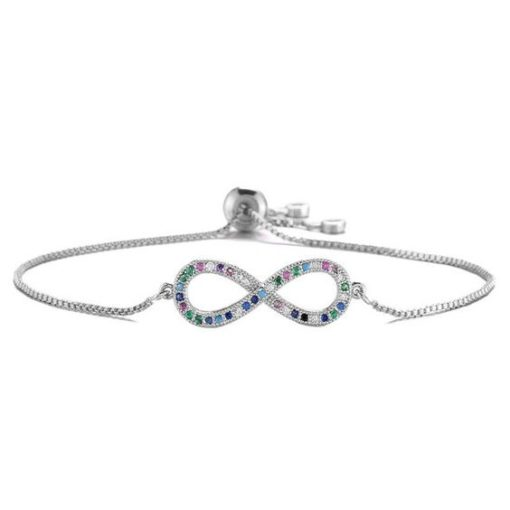 bracelet argent infini original