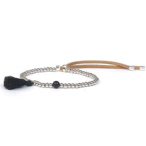bracelet createur pompon pas cher
