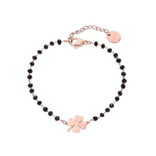 bracelet createur trefle