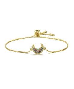 bracelet demi lune cadeau