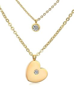collier coeur original
