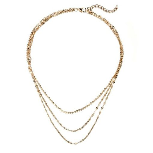 collier createur 3 rangs