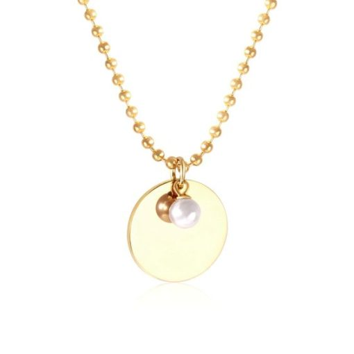 collier medaille cadeau femme