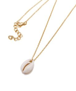 collier createur coquillage