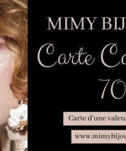 carte cadeau bijoux 70 euros