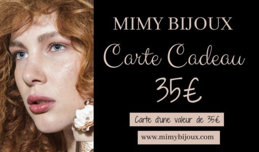 carte cadeau bijoux 35 euros