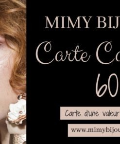 carte cadeau bijoux 60 euros