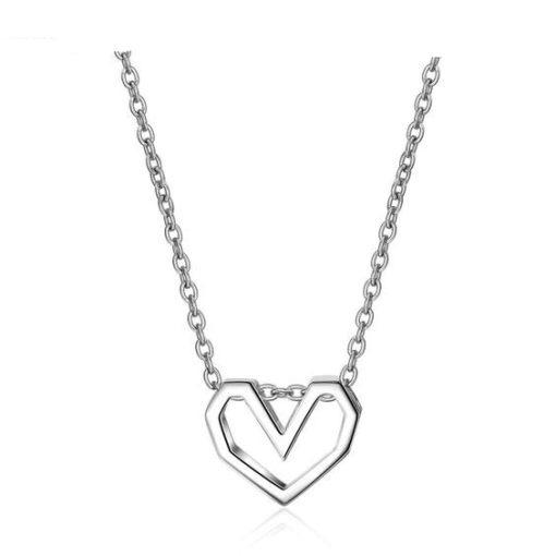 collier coeur argent cadeau original