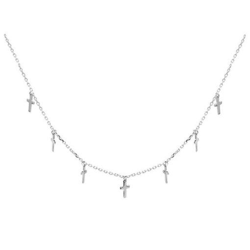 collier croix argent 925