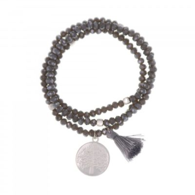 Bracelet arbre de vie cristaux Swarovski