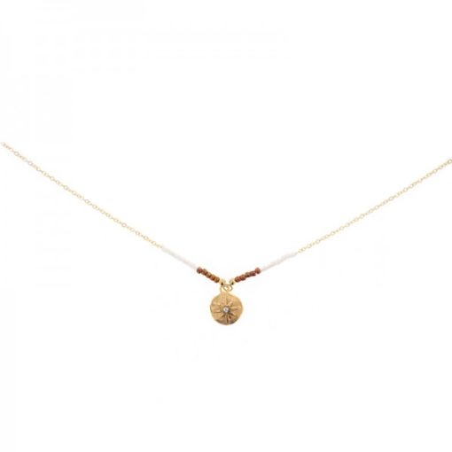 collier medaille ronde