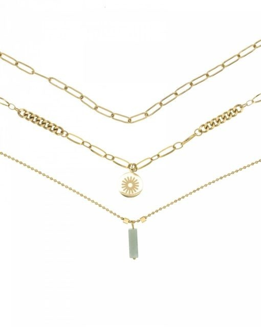 collier multirang or